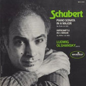 Schubert: Piano Sonata In A Major; Impromptu in C minor