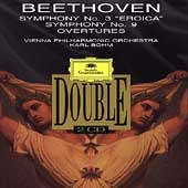 Beethoven: Symphonies no 3 & 9, etc / B&#246;hm, Vienna PO