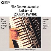 The Concert Accordion Artistry of Robert Davine
