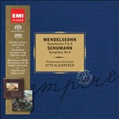 Mendelssohn: Symphonies 3 & 4; Schumann: Symphony No. 4 / Otto Klemperer  [Limited Ed.]