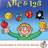 Various Artists: ABC & 123: Alphabet & Counting