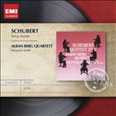 Schubert: String Quintet / Alban Berg Quartett, Heinrich Schiff, cello