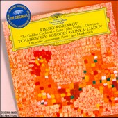 Rimsky-Korsakov: The Golden Cockerel Suite; May Night Overture; Tchaikovsky; Borodin; Glinka; Liadov / Markevitch
