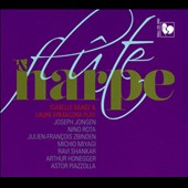 Flute & Harp - works by Jongen, Rota, Piazzolla. Bandi, Ermacora