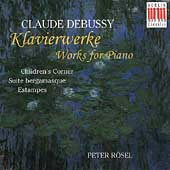 Debussy: Works for Piano / Peter R&#246;sel