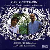Tessarini: Sonatas for Flute and Continuo / Bernabo, Curtis