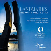 Landmarks, The Wind Orchestra - Works by James Stephenson, Robert Spittal, Bruce Broughton, Florent Schmitt, Martin Ellerby, Scott McAllister, Don Freund / Aaron McCalla, tuba