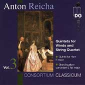 Reicha: Quintets for Winds & String Quartet Vol 3