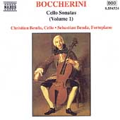 Boccherini: Cello Sonatas Vol 1 /Christian & Sebastian Benda