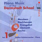 SCENE  Piano Music of the Darmstadt School / Schleiermacher