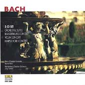 Bach: Orchestral Suites, Brandenburg Concertos, etc / Kehr, Faerber, et al