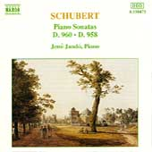 Schubert: Piano Sonatas D 960 & 958 / J&eacute;n&ouml; Jand&oacute;