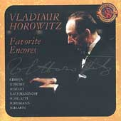 Expanded Edition - Vladimir Horowitz - Favorite Encores