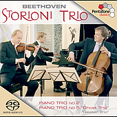 Beethoven: Piano Trios no 2 & 5 / Storioni Trio