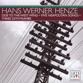 Henze: Ode an der Westwind, etc / Halffter, Rivinius
