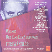 Wagner: Der Ring des Nibelungen / Furtw&auml;ngler