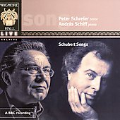Schubert: Songs / Schreier, Schiff