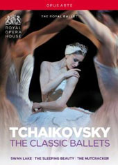 Tchaikovsky: Classic Ballets: Swan Lake; The Nutcracker; Sleeping Beauty,  plus bonus material / The Royal Ballet, 2006, 2009 [3 DVD]
