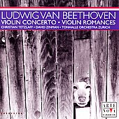 Beethoven: Violin Concerto, Romances / Tetzlaff, Zinman