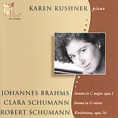 Brahms: Sonata in C major Op 1 / Karen Kushner