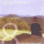 Wayne: Nuzerov Quartets no 6, 7 & 8 / Wallinger Quartet