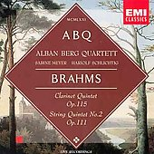Brahms:clarinet Quintet Op.115, String Quartet No.2