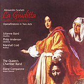 Scarlatti: La Giuditta / Comparone, Baird, Coid, et al