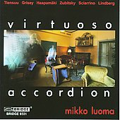 The Virtuoso Accordion - Sciarrino, etc / Mikko Luoma