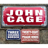 Cage: Three, Twenty-Eight, etc / Susanna Borsch, Christina Fong, Prague Winds, et al