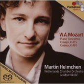 Mozart: Piano Concertos, K. 415 & 491 [Hybrid SACD+DVD]