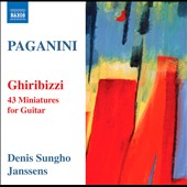 Paganini: Ghiribizzi for solo guitar / Janssens