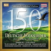 150 German Folksongs / Hermann Prey, Peter Schreier [5 CDs]