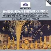 Handel: Royal Fireworks, etc / Pinnock, English Concert