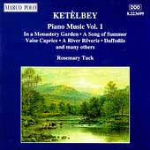 Ketèlby: Piano Music Vol 1 / Rosemary Tuck