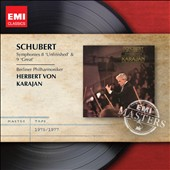 Schubert: Symphonies Nos. 8 & 9 / Karajan, BPO