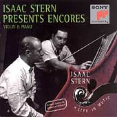 Isaac Stern - A Life in Music - Encores for Violin & Piano