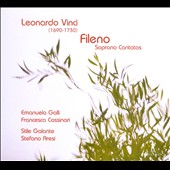Leonardo Vinci: Fileno - Soprano Cantatas