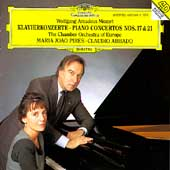 Mozart: Piano Concertos no 17 & 21 / Pires, Abbado