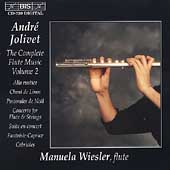 Jolivet: The Complete Flute Music Vol 2 / Manuela Wiesler