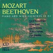 Mozart, Beethoven: Piano and Wind Quintets / Rosenberger