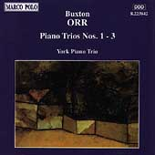 Orr: Piano Trios no 1-3 / York Piano Trio