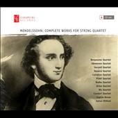 Mendelssohn: Complete String Quartets - A survey of the 10 quartets performed by 10 different ensembles [4 CDs]