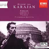 Karajan Edition - Sibelius: Symphonies no 4 and 5