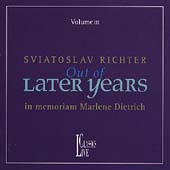 Sviatoslav Richter - Out of Later Years Vol 3 - In Memoriam
