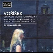 Jan Václav VoríÜek (1791-1825): Piano Works, Vol. 1 / Biljana Urban, piano