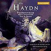 Haydn: Paukenmesse, etc / Hickox, Collegium Musicum 90