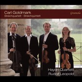 Carl Goldmark (1830-1915): String Quartet Op. 8; String Quintet, Op. 9 / Haydn Quartett, Rudolf Leopold, cello II