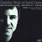 Chamber Music of David Conte (b.1955): Cello Sonata; String Quartet No. 2; Piano Trio / Emil Miland, cello; Miles Graber, piano; Kay Stern, violin; Keisuke Nakagoshi, piano