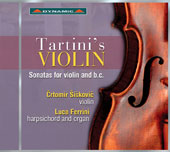Tartini: Sonatas for Violin (4)