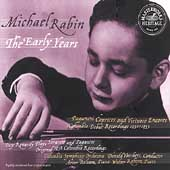 HERITAGE  Michael Rabin - The Early Years - Paganini, et al